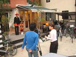 NHK京都の取材